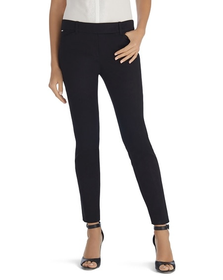 Ultra Stretch Black Ankle Pant