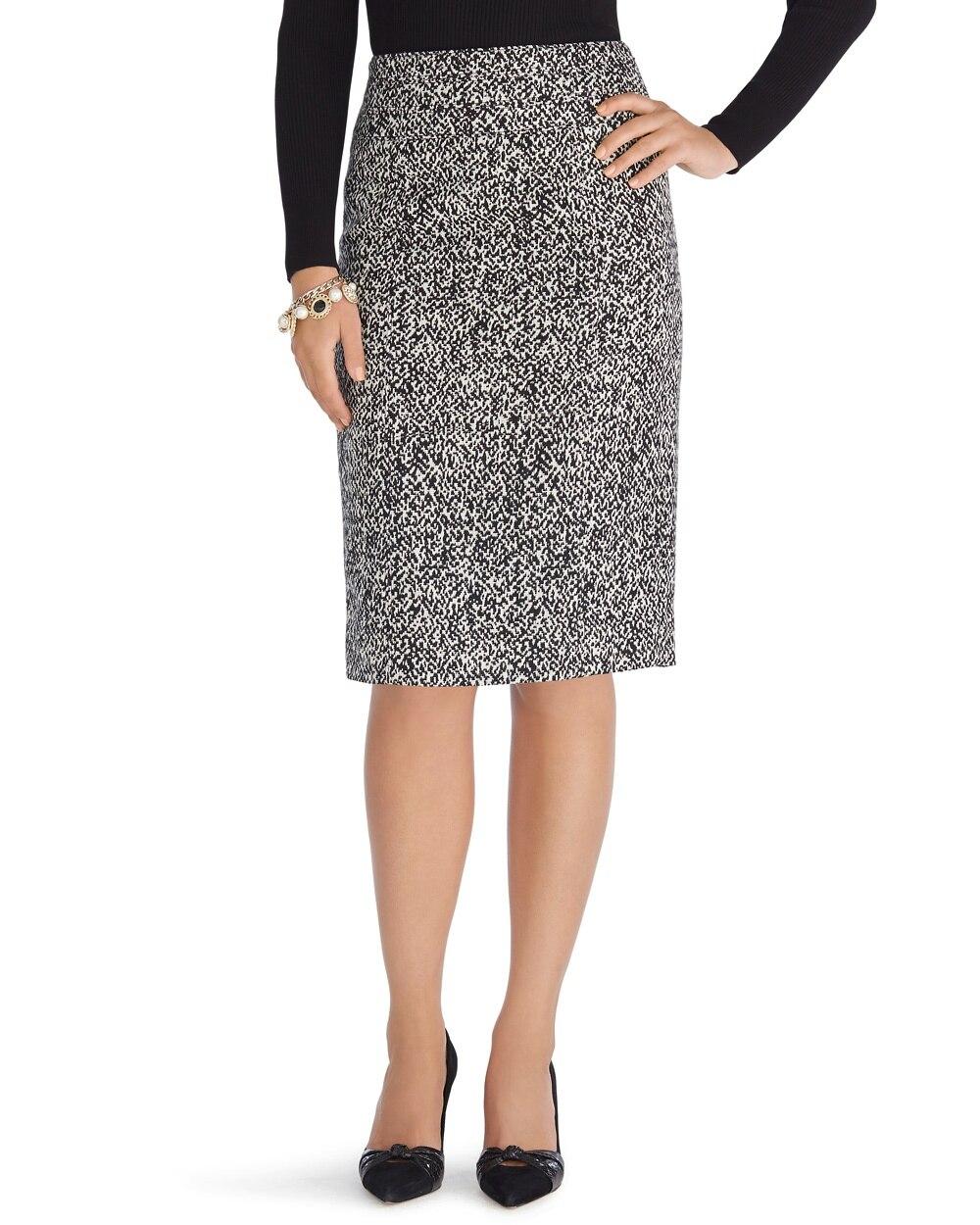 Menswear Tweed Pencil Skirt - WHBM