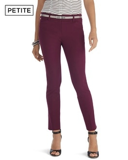 Petite Ultra Stretch Slim Ankle Pants