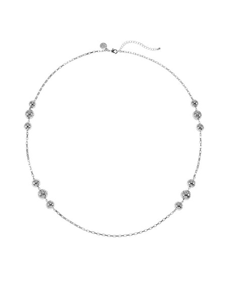 Crystal Pave Long Necklace