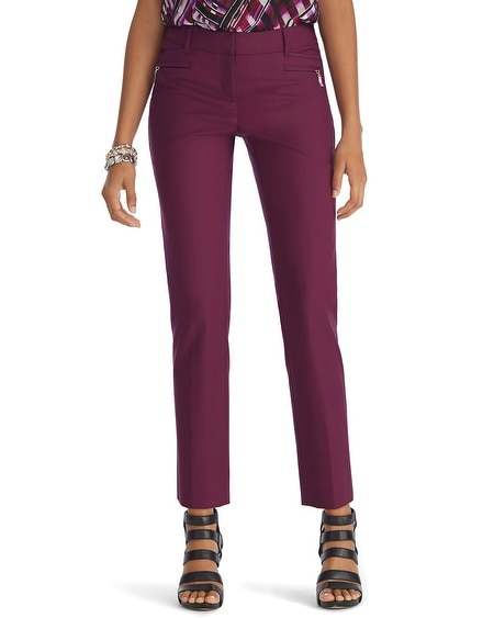 Burgundy Perfect Form Pant