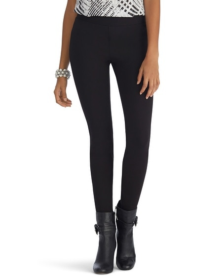 Side Stripe Black Legging