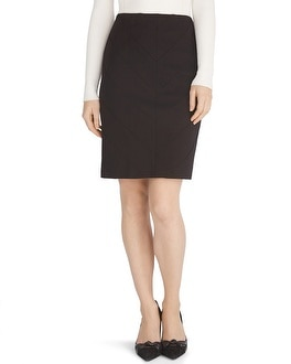 Instantly Slimming Black Pencil Skirt