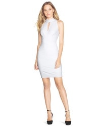 Mock Neck Instantly Slimming Dress
