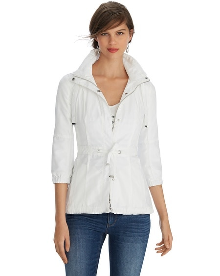White Lightweight Jacket - JacketIn