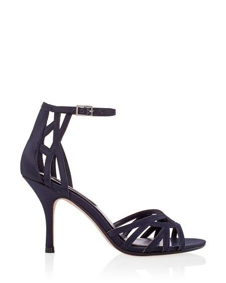 Navy Strappy Heels | Tsaa Heel