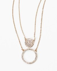 Convertible Pave Necklace