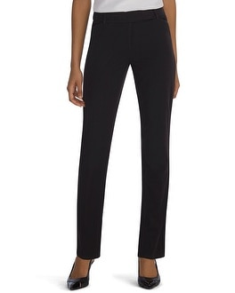 Seasonless Slim Black Pants