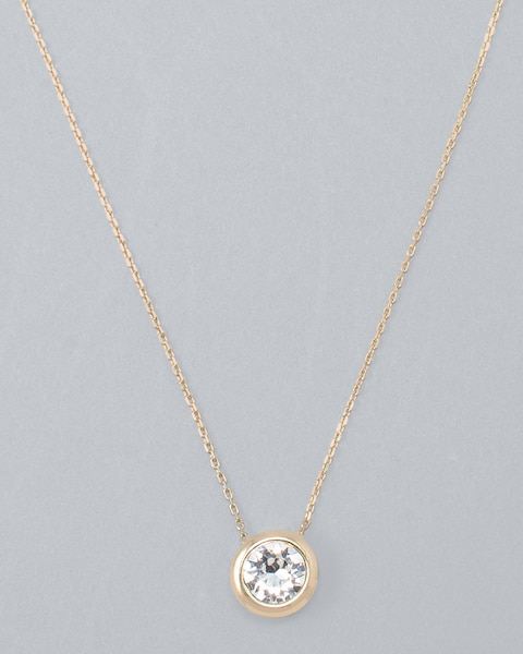 Pendant Necklace With Crystals From Swarovski®