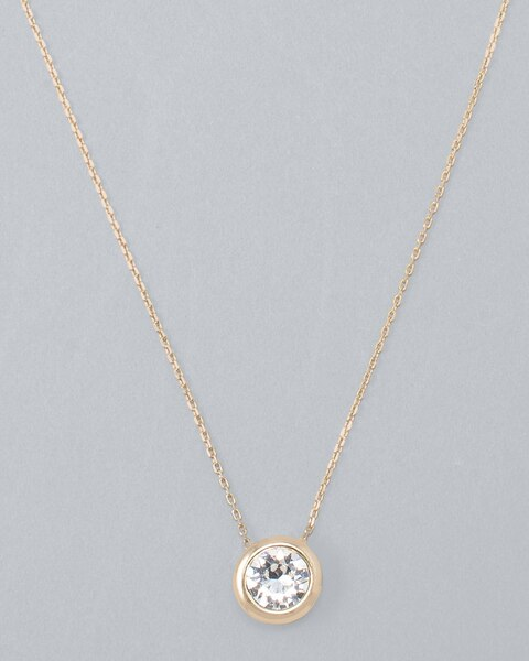 199ae0c05e645 Pendant Necklace with Crystals From Swarovski®