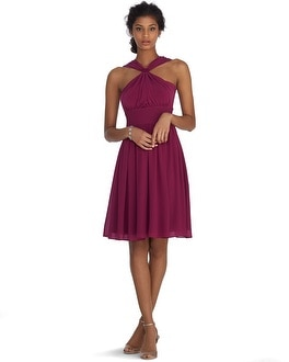 Genius Convertible Merlot Dress