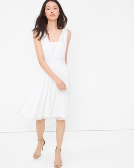 Genius Convertible White Dress