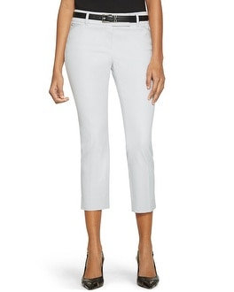 Premium Bi-Stretch Crop Pants