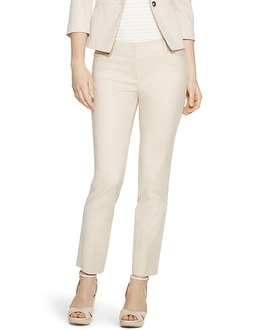 Curvy Perfect Form Ankle Pants