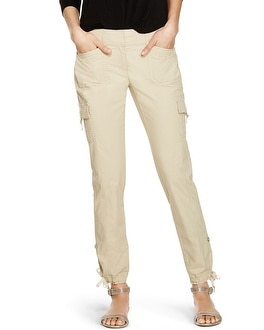 Convertible Ankle to Crop Cargo Pants