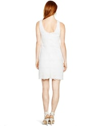cd3494fab64bf Sleeveless Tiered Lace Shift Dress - White House Black Market