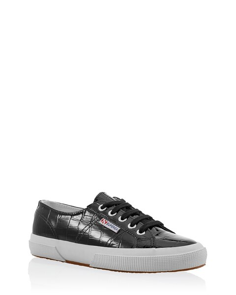 Casual Adjust Strap SUPERGA 2750 Canvas Sneakers Size 8.5 Classic White