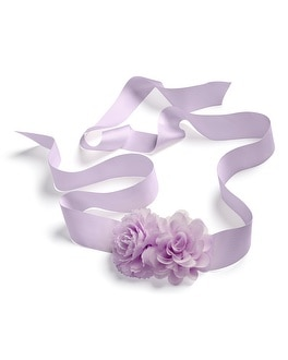 Peri Single Flower Sash Belt