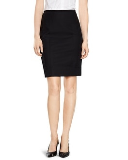 Perfect Form Black Pencil Skirt
