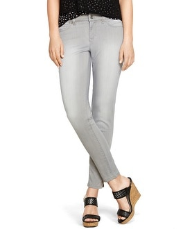 Saint Honore Curvy Gray Skimmer Jeans