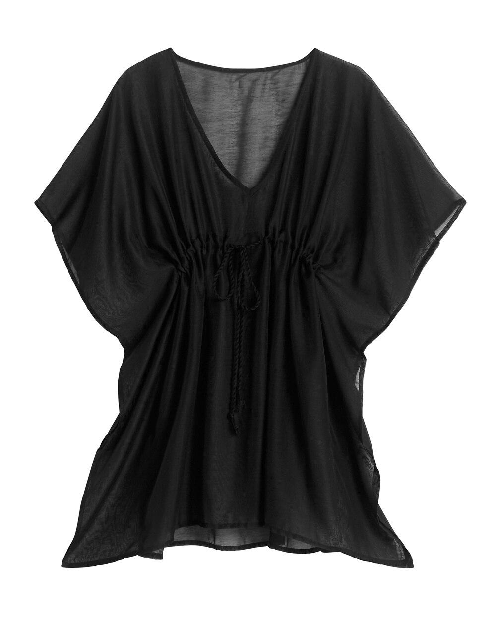 5c7d38f0f6 Return to thumbnail image selection Black Swim Cover-Up Dress