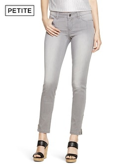 Petite Saint Honore Gray Skimmer Jeans