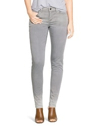Saint Honore Curvy Gray Skinny Jeans