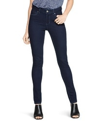 Saint Honore Mid-Rise Skinny Jeans