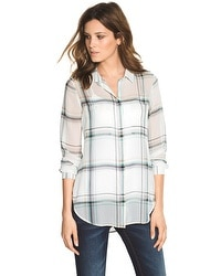 Plaid Soft Shirt