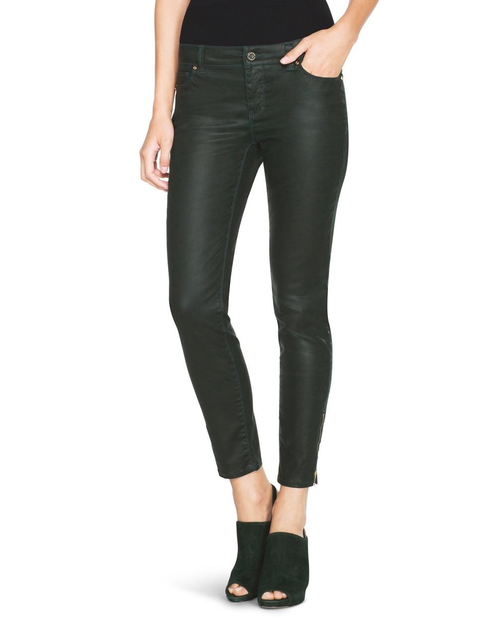 Coated Skimmer Jeans - White House Black Market