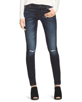 Saint Honore Distressed Skinny Jeans