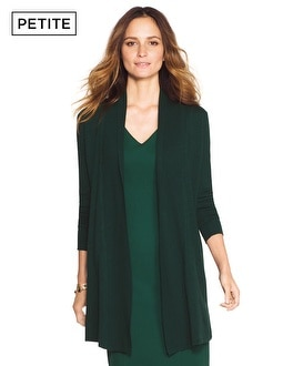 Petite Long Sleeve Essential Coverup