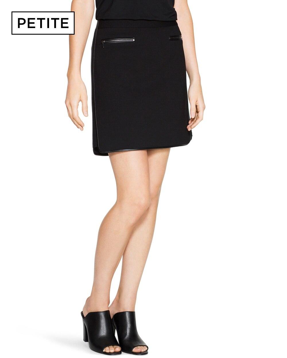 19708018f0 Petite Ponte Mini Skirt - White House Black Market