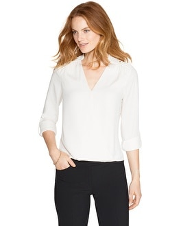 Easy Surplice Blouse