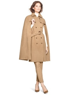 Cape Trench Coat