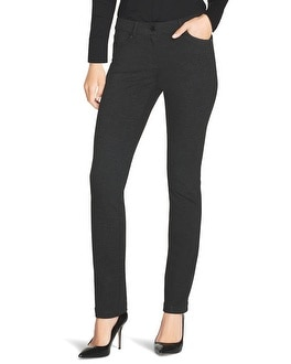 City Knit Slim Ponte Pants