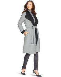Reversible Wrap Coat
