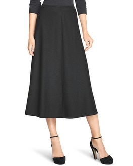 A-Line Ankle Skirt