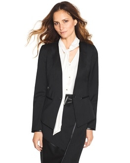 Chalk Stripe Blazer