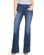 Saint Honore Curvy Mid Rise Wide Flare Jeans