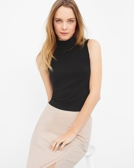 Sleeveless Crop Sweater
