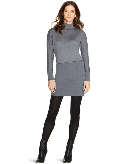 Turtleneck Sweater Chemise