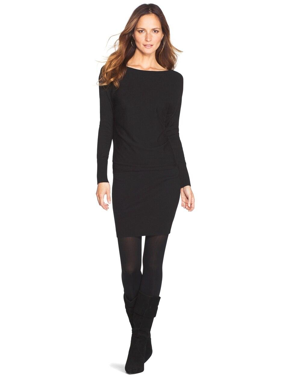 fa03d427588 Tunic Sweater Dress - White House Black Market