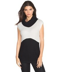 Colorblock Tabard Sweater