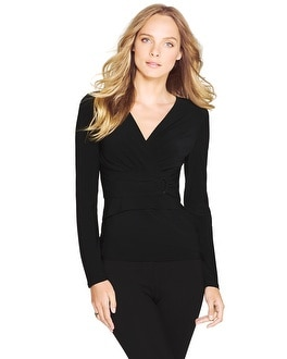 Long Sleeve Instantly Slimming Top