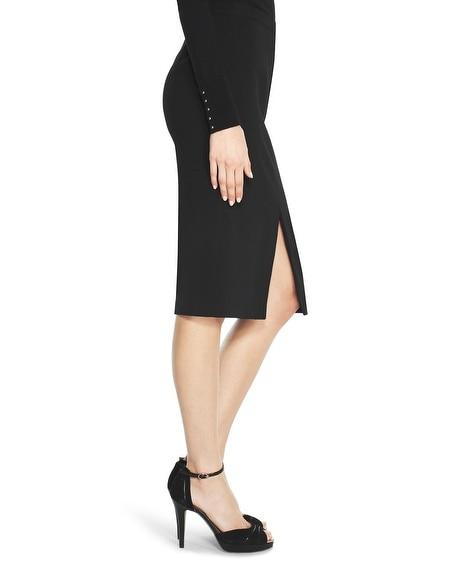 front slit pencil skirt whbm