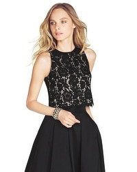 Lace Bodice Blouse