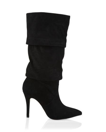 suede scrunch boots white house black market