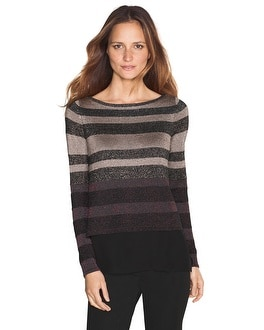 Woven Mix Pullover