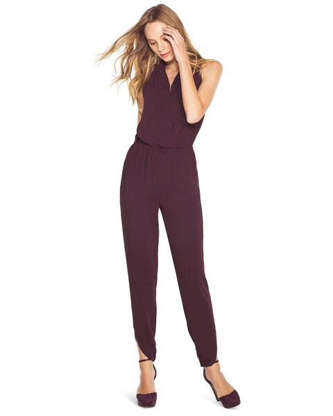6dc7fe2543e Return to thumbnail image selection Halter Jumpsuit video preview image